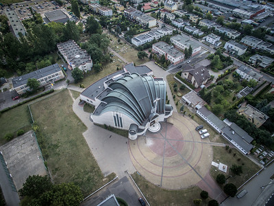 05. Kirche von Unserer Dame Königin von Polen | Church of Our Lady Queen of Poland, Toruń. Architekt | architect: Czesław Sobociński; Errichtet | construction dates: 1986-1993