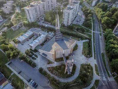 04. Kirche der Mariä Heimsuchung | Church of the Visitation of Virgin Mary, Będzin. Architekt | architect: Ryszard Kumor; Errichtet | construction dates: 1981-2000