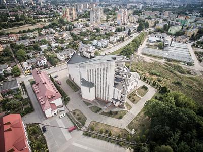 06. Kirche der Göttlichen Gnade | Church of Divine Mercy, Kielce. Architekt | architect: Marian Sztafrowski; Errichtet | construction dates: 1981-2000