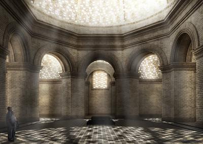 07 Entwurf Perspektive des Innenraums