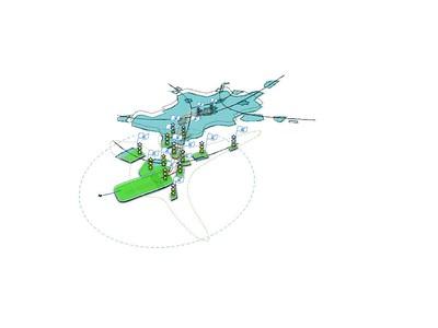 Festlegung der Airea: Flughafenfokus – Selbstdarstellung und Vermarktung bezüglich des Flughafens © Johanna Schlaack