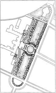 Mariannenplatz, Lageplan