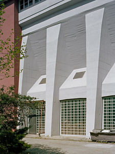 02 Heizhaus, Friedrichshafen, Fassade