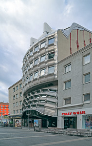 07 Günther Domenig. Central Savings Bank Building, Favoriten, Vienna, 1975–1979