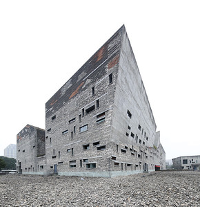 11 Amateur Architecture Studio/Wang Shu. Ningbo Contemporary Art Museum, 2008