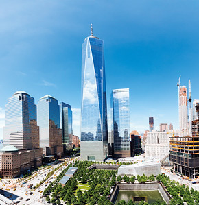 10 Daniel Libeskind. World Trade Center, New York, 2006–2013