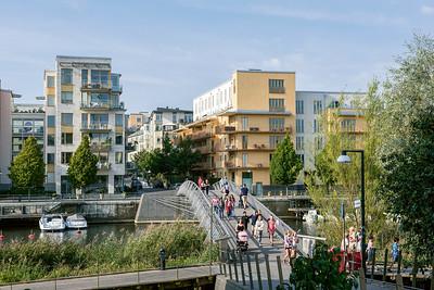 03 HAMMARBY SJÖSTADT | STOCKHOLM VERDICHTUNG Neue dichte Stadtteile auf alten Hafen- und Industriegeländen sind Teil der Stockholmer Verdichtungsstrategie.