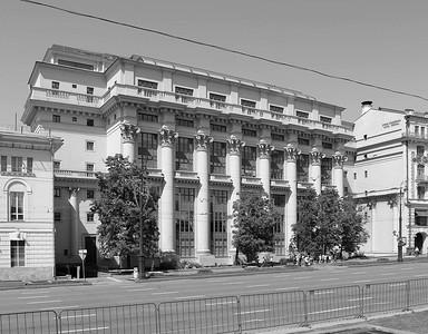 Iwan Scholtowski, Wohnhaus in der Mochowaja-Straße, Moskau (1932-1934)