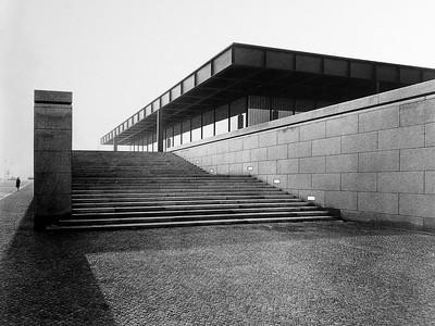 01 Mies van der Rohe, Nationalgalerie Berlin, 1963–1968
