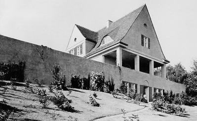 03 Haus Riehl, Potsdam-Neubabelsberg, 1908–1909. Gartenansicht | Garden view