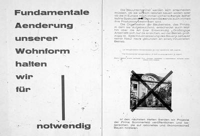 06 Messel an den Pranger gestellt: Doppelseite aus G Nr. 3, 1924