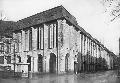 02 Alfred Messel: Kaufhaus Wertheim Kopfbau am Leipziger Platz, 1904–1905