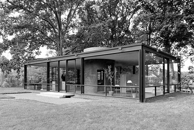 08 Philip Johnson: Glass House in New Canaan, 1945–1949