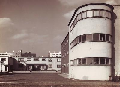 02 Siedlung Römerstadt, um 1928 | Römerstadt housing development, ca. 1928
