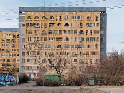 Residential building of 1-T SP Series on ulitsa Bobur, ca. 1974Wohngebäude der 1-T SP Serie auf der Ulista Bobur, ca. 1974Image: © Philipp Meuser