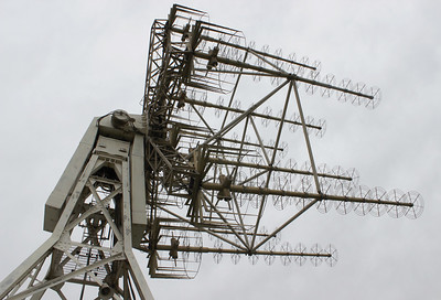 Satellite Automatic Tracking Antenna (SATAN) in former NASA Station, Peldehue, Chile Photo: Hugo Palmarola, 2015