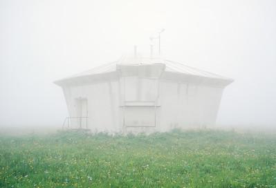 Vertical circle dome of Yuri Streletski's design at the Kislovodsk Mountain Astronomical Station, the CaucasusPhoto: Petr Antonov, 2015