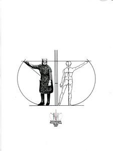 10 Persiflage auf das Logo der Internationalen Bauausstellung Berlin 1984/87, das den Mann als Maßstab der räumlichen Planung setzt. Umschlag der Werkbund-Zeitschrift werkundzeit 1/1980 zur IBA.