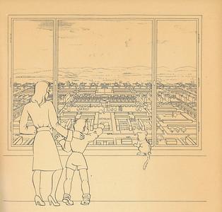 01 Walter Schwagenscheidts Anspruch und die Adressaten seines Buches Die Raumstadt kommen im Untertitel der Veröffentlichung zum Ausdruck: »Hausbau und Städtebau für jung und alt, für Laien und was sich Fachleute nennt. Skizzen mit Randbemerkungen zu einem verworrenen Thema«.