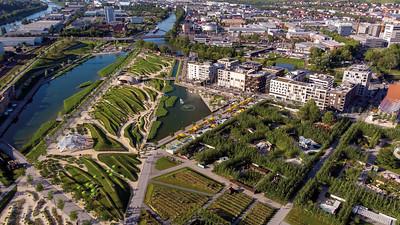 09 Stadt als Garten auf dem ehemaligen Güterbahnhofsgelände. Bundesgartenschau BUGA 2019 in Heilbronn.