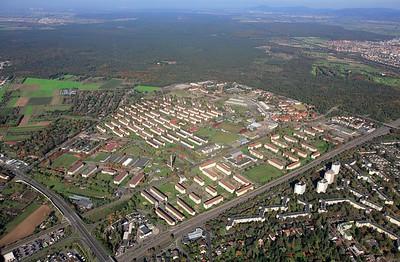 Umnutzung nach Abzug der US Army: Konversionsfläche Benjamin Franklin Village in Mannheim