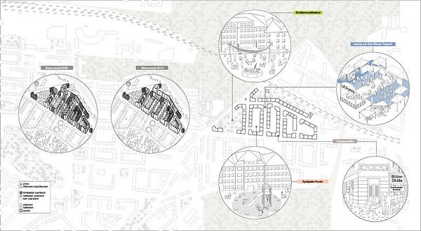 Bürger und Vereine konnten durch Eigeninitiative dem Leerstand im Leipziger Bülowviertel entgegenwirken