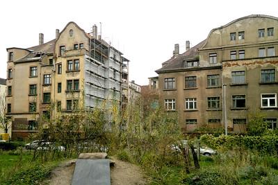 Aufwertung nach Leerstand und Verfall: Bülowviertel in Leipzig
