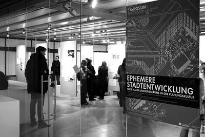 Symposium Ephemere Stadtentwicklung des Planungslabors der Technischen Universität Berlin