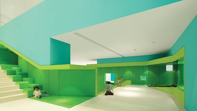 06 Spiel- und Lernzentrum Family Box. Quingdao, China | Play- and learning centre Family Box. Quingdao, China. Crossboundaries