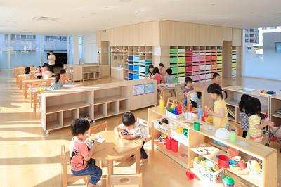 08 Kindergarten Crèche Ropponmatsu. Fukuoka, Japan. Emmanuelle Moureaux Architecture + Design