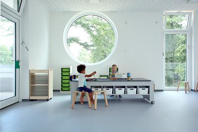 02 FRÖBEL-Kindergarten Zuckerhut. Köln, Deutschland | Cologne, Germany. Carola Brammen-Ruoff / intrect ® – interior solutions