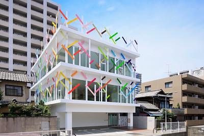 07 Kindergarten Crèche Ropponmatsu. Fukuoka, Japan. Emmanuelle Moureaux Architecture + Design