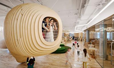 05 Vor- und Grundschule WeGrow. New York City, USA | Pre- and prmary school WeGrow. New York City, USA. Bjarke Ingels Group