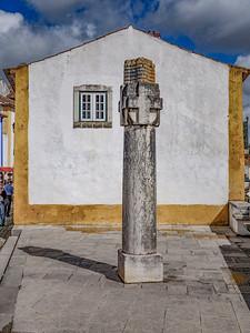 07 Óbidos: Camões Denkmal im historischen Stadtzentrum | Óbidos: Camões Monument in the Historic Centre