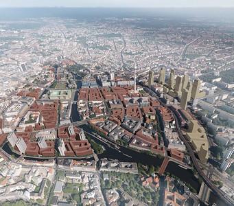 Stadtkern 2030, Integration von Bestand und Planung