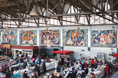 08 Valentyn Kovaliov. Cheriomushky indoor market,Odessa. Ceramic mosaic