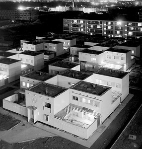 06/01/1970 Wohnbebauung im Zentrum von Taschkent bei Nacht.06/01/1970 Residential area in the center of Tashkent at night. Alexey Varfolomeev/RIA NovostiTaschkent © RIA Novosti