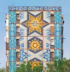 Taschkent Giebelfassade - Foto © Philipp Meuser