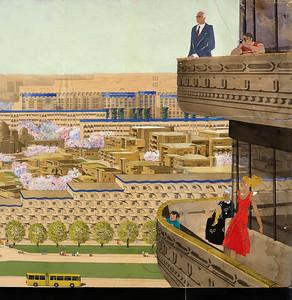 Taschkent Wettbewerb © Staatliches Schtschussew Museum für Architektur, Moskau