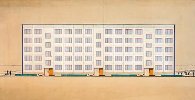 Boris Jofan © Staatliches Schtschussew Museum für Architektur, Moskau