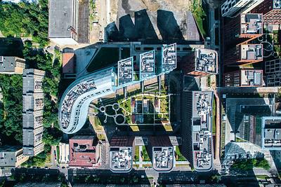 07  Garden Quarters Residential Complex 2010 – 2018 Sergey Aleksandrovich Skuratov,  Aleksandr Vladimirovich Panev et al.  2/1-2/4, 3/1-3/9 Usachev Street