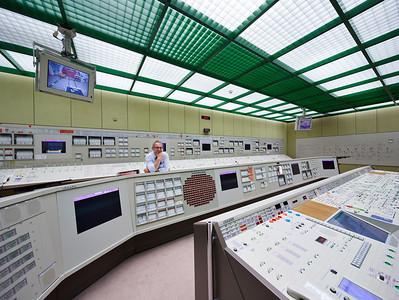 02 Simulatorzentrum Essen, Warte des Simulators S2 für Gundremmingen B und C. | Simulator centre Essen, control room for the simulator of S2 Gundremmingen B and C,