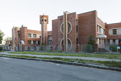 06 Kindergarten. 1990—1991. Architekt| Architect: V. Menzheleev.  Charkiw | Kharkiv