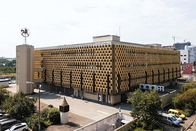 05 Kinderwelt | Children's World. 1976—1987. Architekten | Architects: V. Zalutsky, Y. Borodkin. Ingenieure | Engineers: V. Kuziakiv, V. Fedorko. Kiev | Kyiv