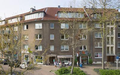 02 Mülheim, Dichterviertel. Goetheplatz 5–7.