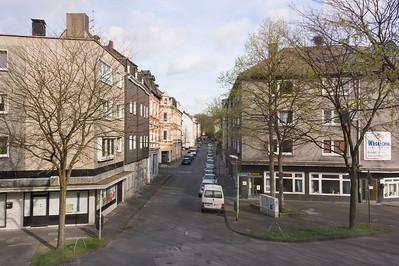 03 Essen, Eltingviertel. Eltingstraße Ecke Kleine Stoppenberger Straße.