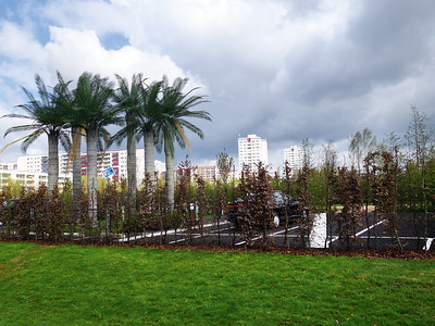 13 IGA-Gelände, 2017. Für die Internationale Gartenausstellung 2017 wurde ein bereits während der DDR-Zeit angelegter Park in Marzahn weiter ausgebaut