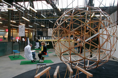 """2. Berlilner Kunstsalon"" im Arena-Magazin, 2005 