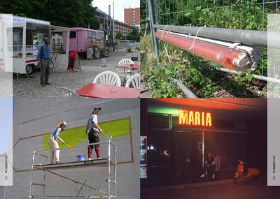 Die Nutzer werden selbst zu Produzenten von Raum. | The users themselves become producers of the urban environment. Photos: Urban Catalyst (r), Verein V.I.P. Basel (l)