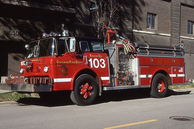 ENGINE 103  FORD C - E-ONE   EXTENDED BUMPER